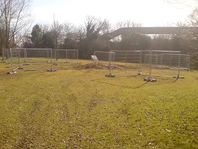 Work has started in Stoneyfields Park