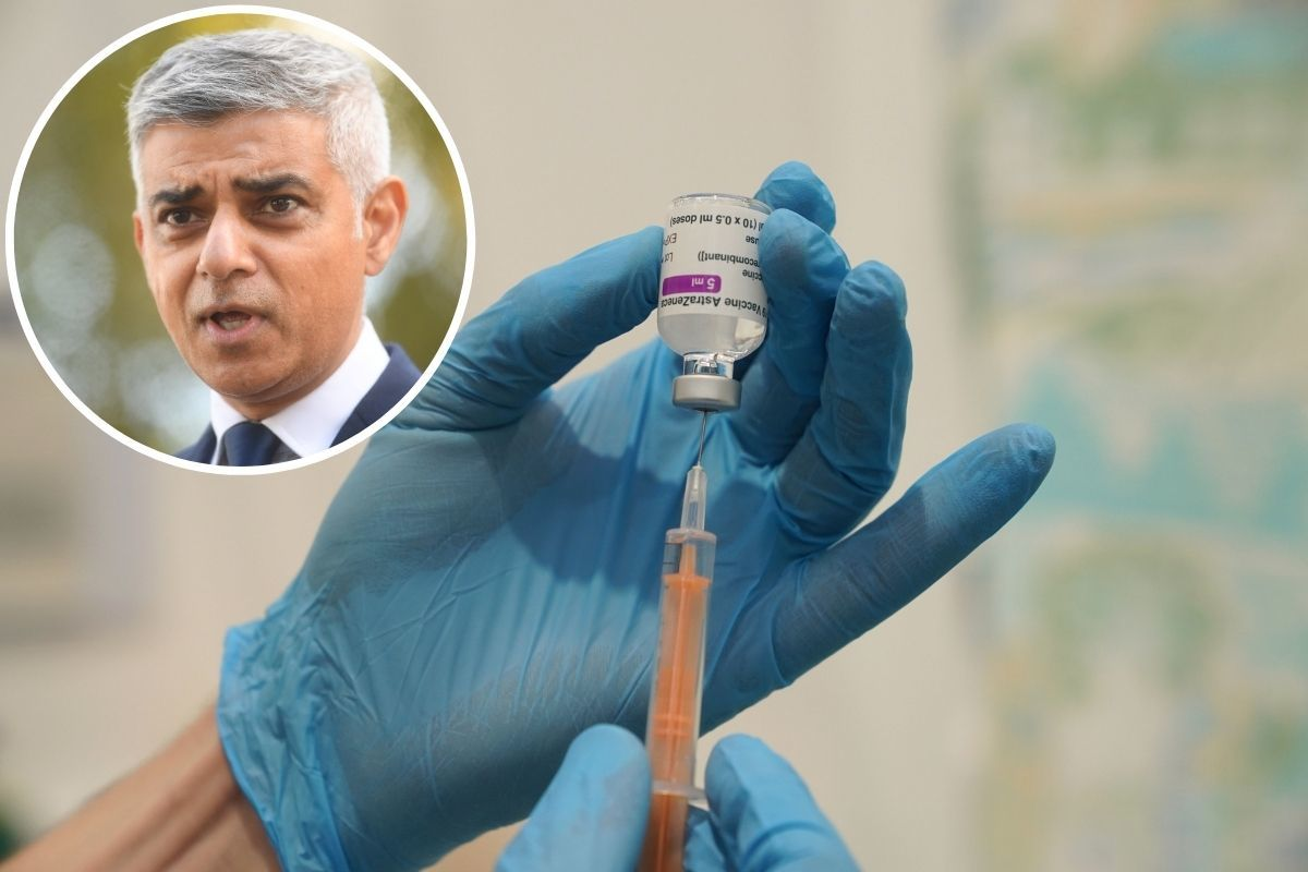Sadiq Khan: 'Do more' to protect key workers as they miss out on vaccine priority