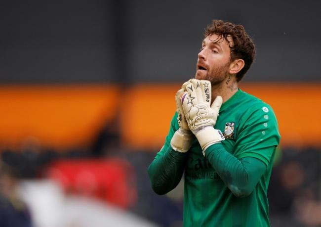 Barnet goalkeeper Scott Loach Picture: Action Images