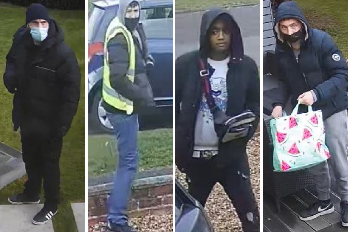 Police CCTV appeal: Safe and watches stolen in burglary