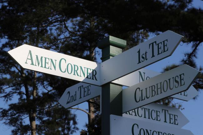 The Masters gets under way on Thursday