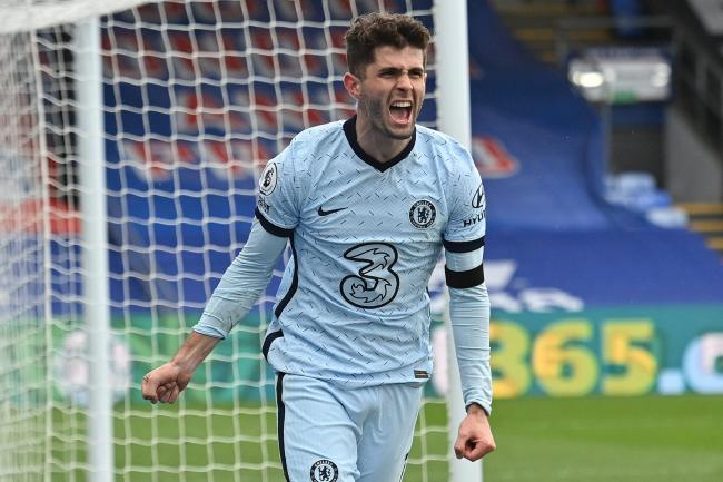 Christian Pulisic struck a brace in Chelsea's 4-1 win at Crystal Palace