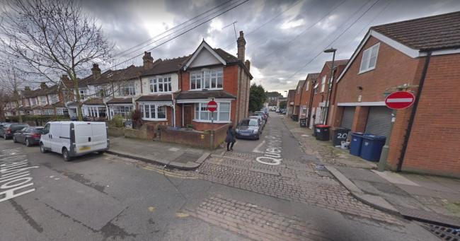 The junction of Queens Parade Close and Hollyfield Avenue is due to be closed from Monday. Picture: Google Street View