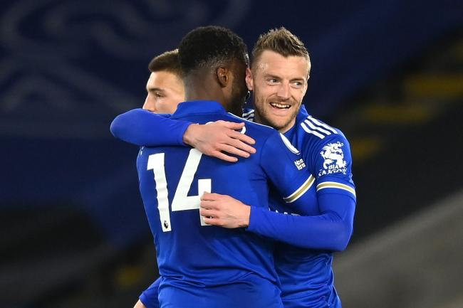 Jamie Vardy ended his goal drought against West Brom