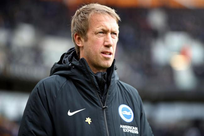 Graham Potter takes Brighton to Bramall Lane on Saturday evening