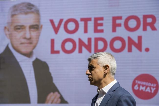 Sadiq Khan has appealed for Green and Lib Dem voters to back him on May 6. Credit: PA