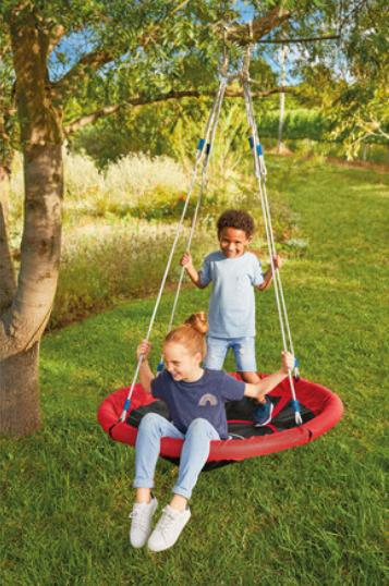 Times Series: Playtive Nest Swing. (Lidl)