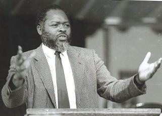 Late MP Bernie Grant who died in 2000 and succeeded by David Lammy