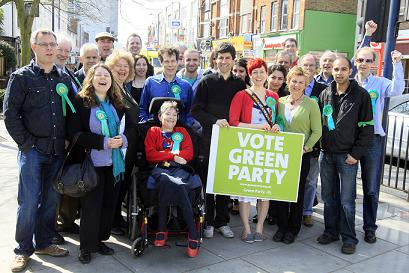 Barnet Greens claim they will bring new thinking to Barnet Council politics at North Finchley campaign launch