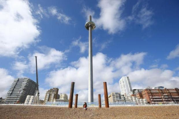 Times Series: The observation tower in Brighton. Credit: Brighton Argus