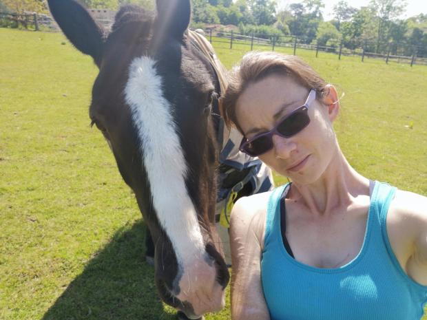 Times Series: Jenny with Tayto the pony