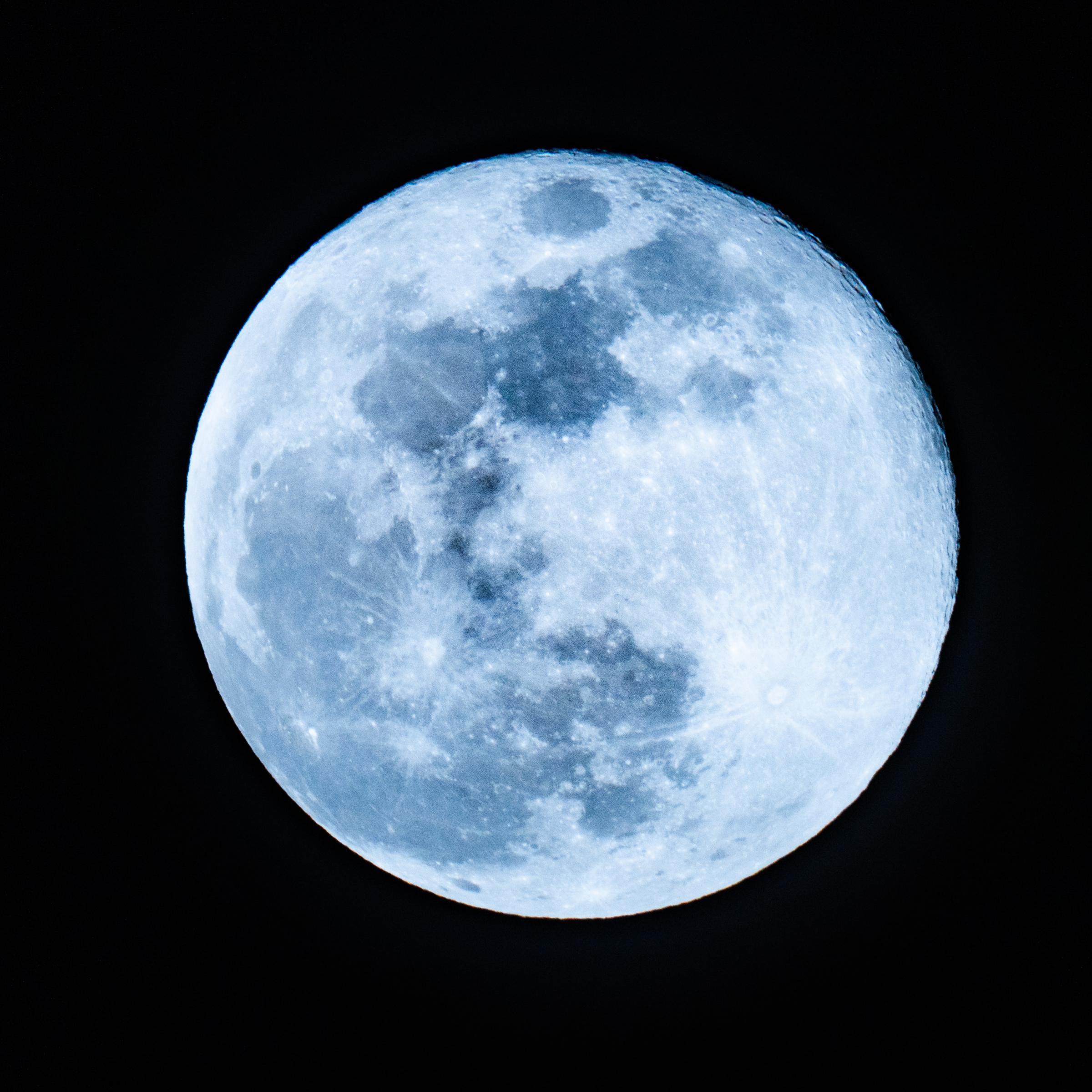Blue Moon Wie man den seltenen Stör Vollmond sieht   Germanic ...