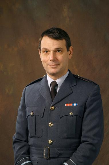 New director general, Air Vice-Marshal Peter Dye OBE, announced at Royal Air Force museum near Colindale