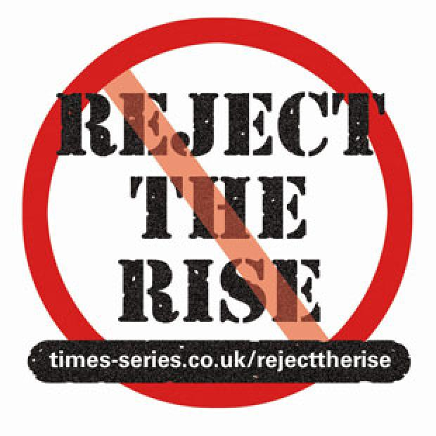 Show your support for our Reject The Rise campaign