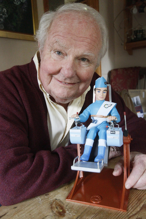 Shane Rimmer, the voice of Scott Tracey in Thunderbirds, has written his autobiography