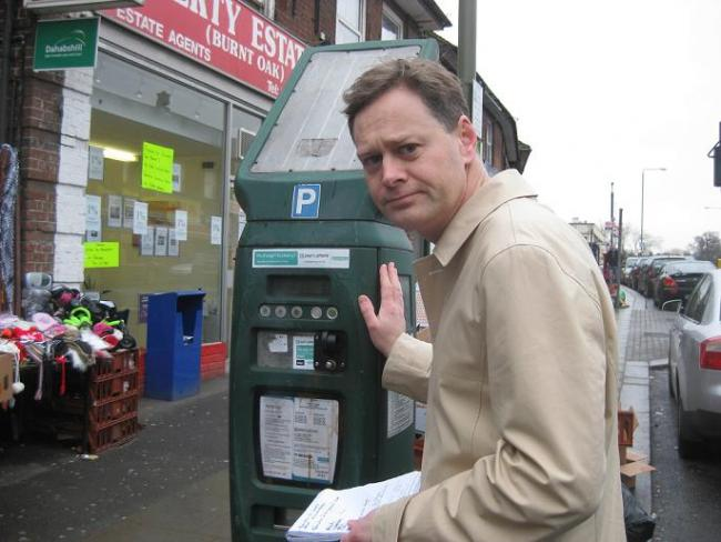Matthew Offord MP has criticised council plans to raise parking charges