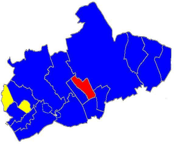 Tories hold Potters Bar seats on Hertsmere Council