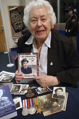 Eileen Younghusband played a crucial role during the Second World War