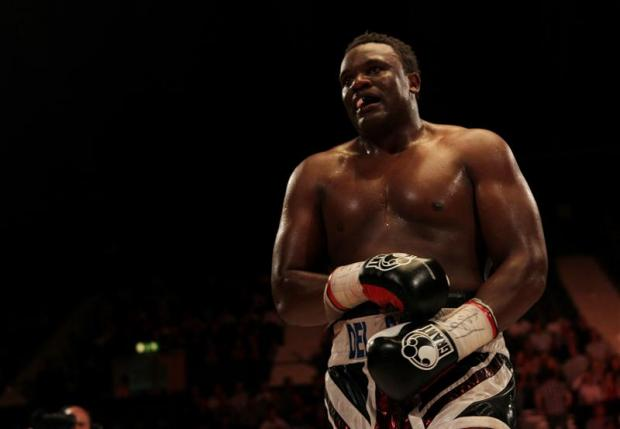 Times Series: Dereck Chisora faces Tyson Fury in a re-match this Saturday. Picture: Action Images