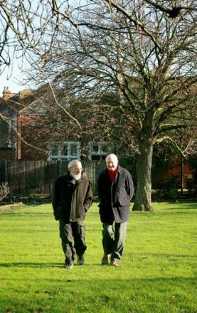 Two residents's associations joined forces to try to save the green space in Friern Barnet.