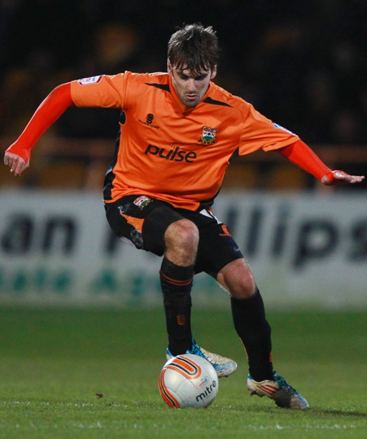 Ricky Holmes starts for Barnet. Picture: Action Images