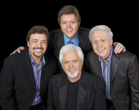 The Osmond brothers: (clockwise) Jay, Jimmy, Wayne and Merrill