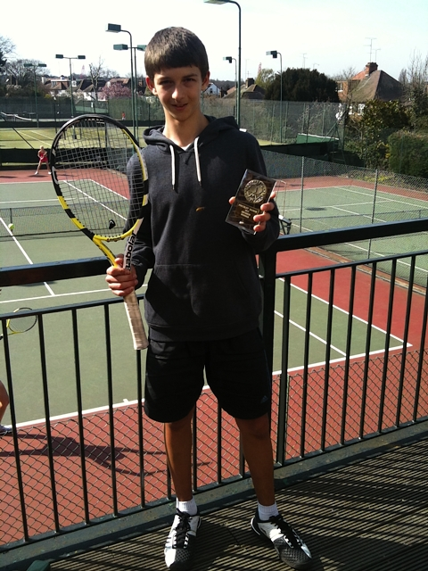 Daniel Gajetic won the tournament held at Finchley Manor