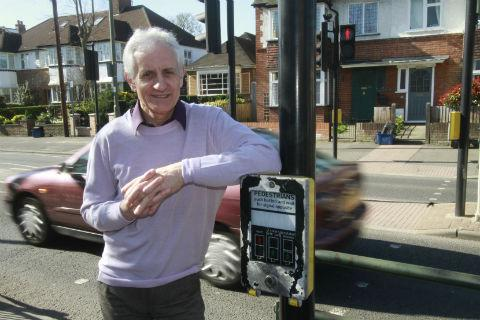 John Wilks, director of the Friend in Need community centre in East Barnet, is urging the council to fully consider the full spectrum of pedestrians before taking any decisions
