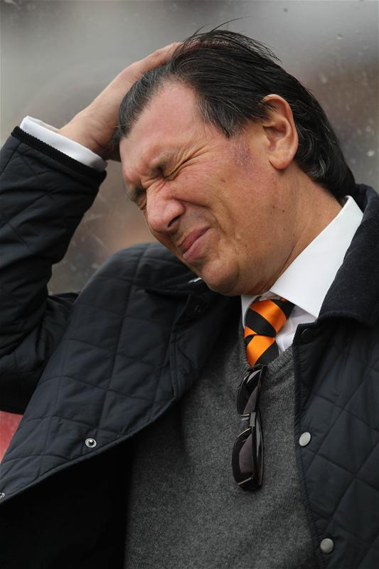 Lawrie Sanchez leaves Barnet. Picture: Action Images