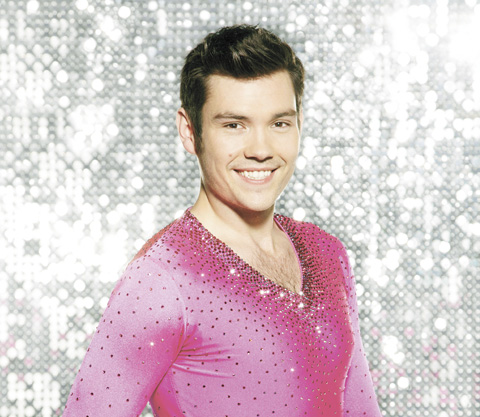 Sam Attwater in Dancing on Ice