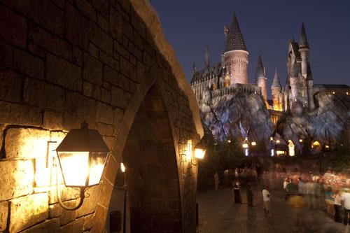 Hogwarts Castle at The Wizarding World of Harry Potter Universal Orlando Resort, Florida