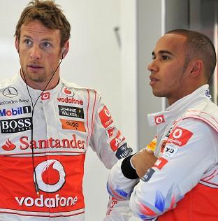 Jenson Button and Lewis Hamilton were among the drivers competing in the Bahrain Grand Prix