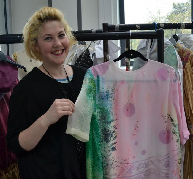 Student designs fashion range for the over 60s