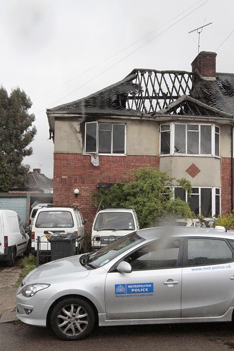 Badly burnt man rescued from house fire by neighbour