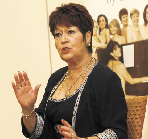 Ruth Madoc at the Calendar Girls launch