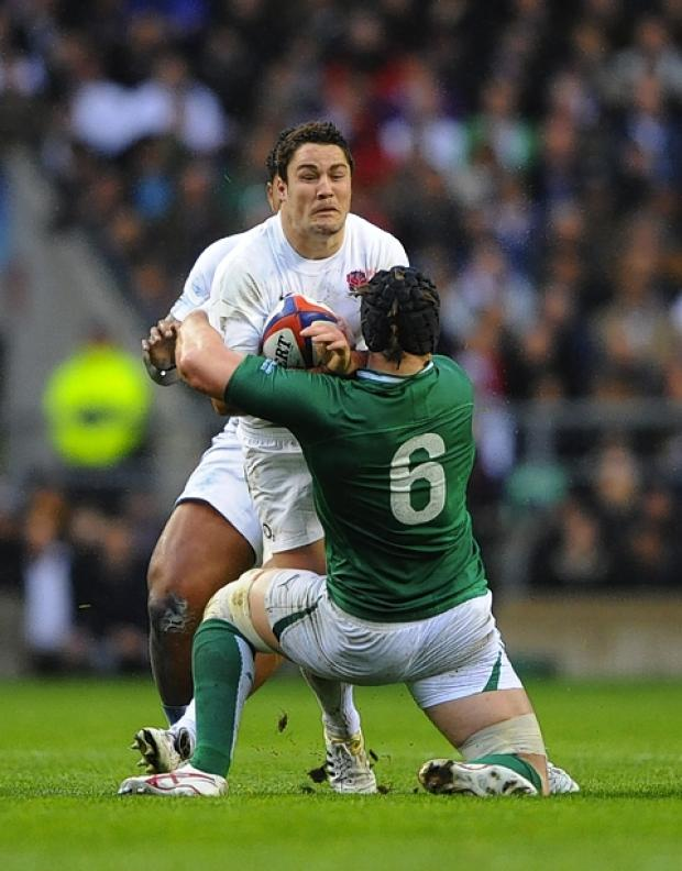 Brad Barritt will miss this weekend's second Test: Action Images