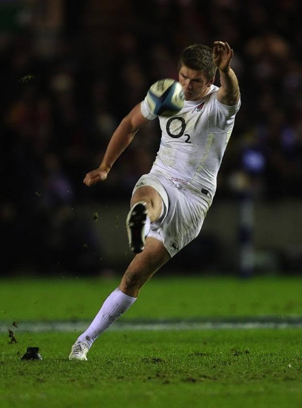 Owen Farrell will start Saturday's game on the bench: Action Images