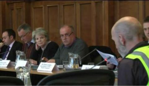 In April, Councillor Coleman was investigated over claims he swore at a member of the public during a council meeting