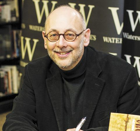 Hampstead Garden Suburb author Ian Phillips at a booksigning