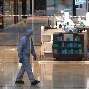 Police probe shopping centre death