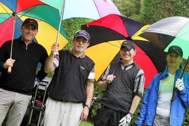 Golfers take part in charity day for Norwood.