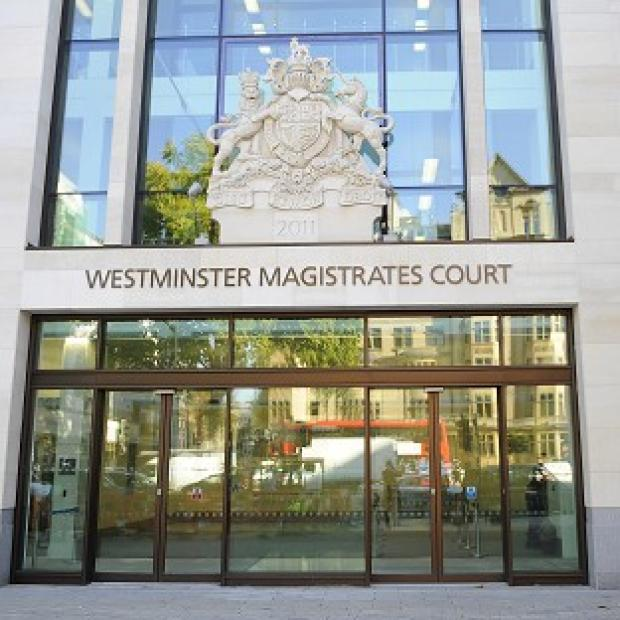 Three men have appeared at Westminster Magistrates' Court after being charged with terrorism offences