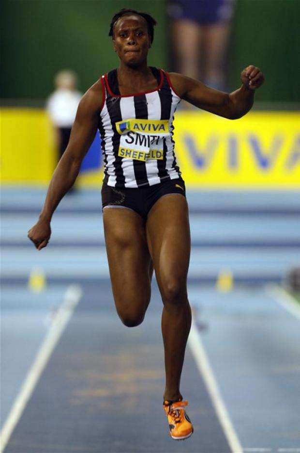 Trecia Kaye Smith has reached the Olympic triple jump final. Picture: Action Images