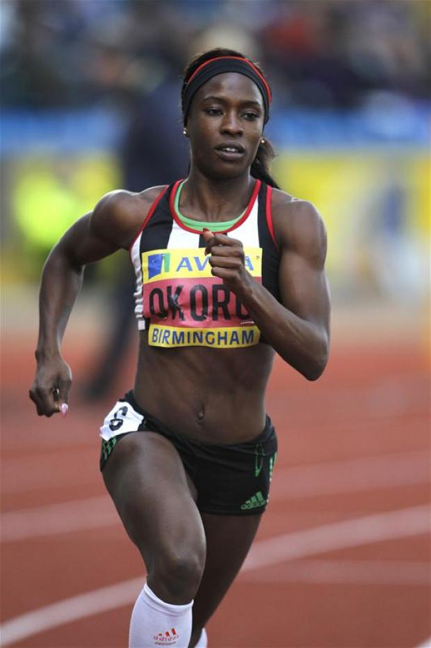 Marilyn Okoro continued her preparations for London 2012. Picture: Action Images