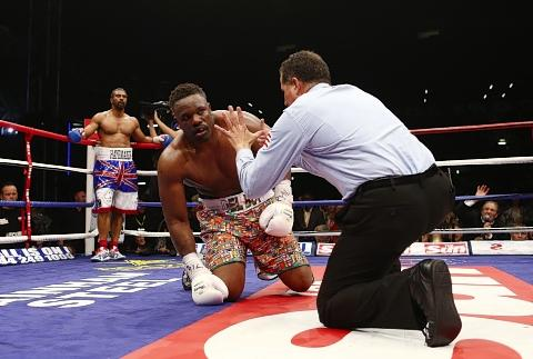 Times Series: Dereck Chisora suffered the first stoppage of his career: Action Images
