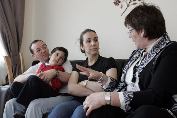 Tracey Lees talks to the Hamdi family