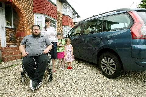 Times Series: Mike Freedman says he will be left housebound by Motability's decision to ban him from leasing its cars