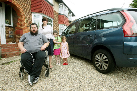 Mike Freedman says he will be left housebound by Motability's decision to ban him from leasing its cars