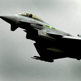 A Typhoon jet tasked with defending the Olympics went to intercept an aircraft with which authorities lost contact
