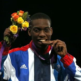 Lutalo Muhammad is thankful to his father and Team GB for their support